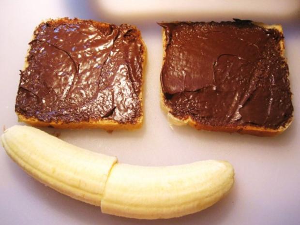 Knuspriger Bananentoast ... - Rezept - Bild Nr. 4