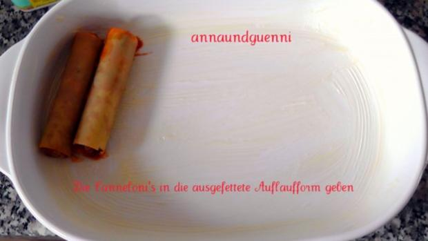 gefüllte Cannelloni aus dem Ofen - Rezept - Bild Nr. 13
