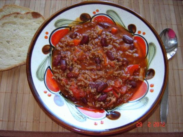 Eintopf : Chili con carne - Rezept