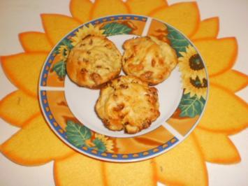 Kartoffel-Muffins mit Rosinen - Rezept
