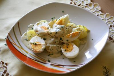 Eier-Kartoffel-Ragout - Rezept