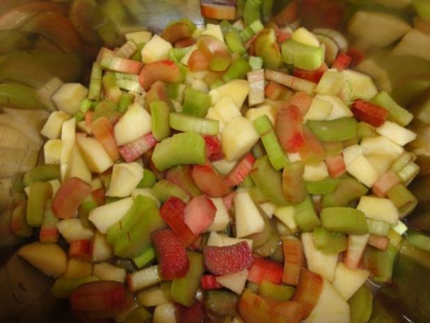 Rhababer-Apfel-Marmelade - Rezept - Bild Nr. 2