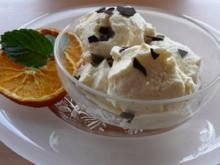 Eis / Halbgefrorenes: Orangen Eis - Rezept