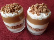 Mascarpone - Apfel - Amaretti - Dessert - Rezept