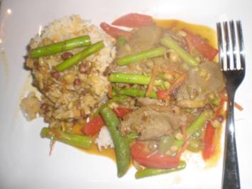 Scharfes Gemüsecurry mit Entenbrust - Rezept