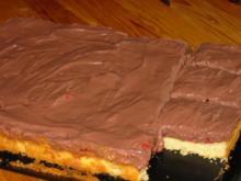 Mürbeiteigkuchen mit Erdbeeren und Galetta Schokocreme - Rezept