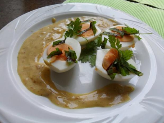 Eier in Senfsoße - Rezept - Bild Nr. 3