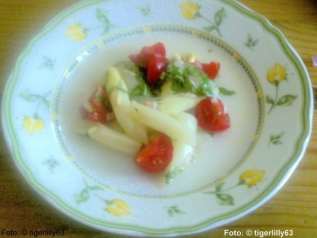 Spargelsalat 'italienisch' - Rezept