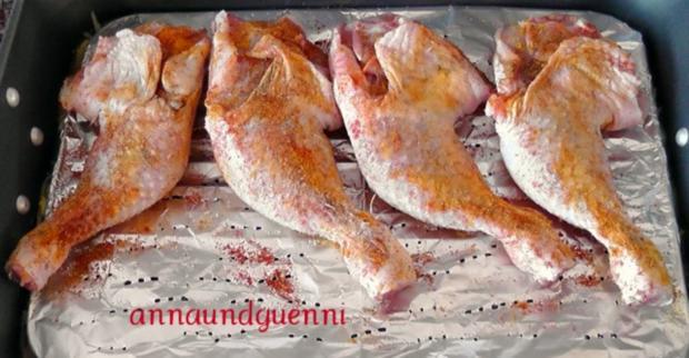 Hähnchenkeulen auf doppelten Boden - Rezept - Bild Nr. 8