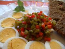 Petersilienstängel - Salat - Rezept