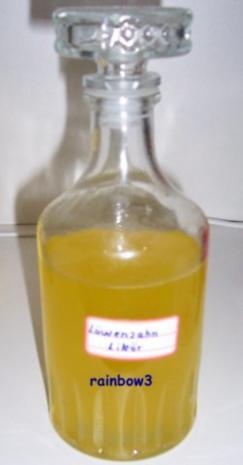 Likör: Löwenzahnblütenlikör - Rezept