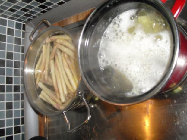 Spargel mit Sauce Hollandaise - Rezept - Bild Nr. 3