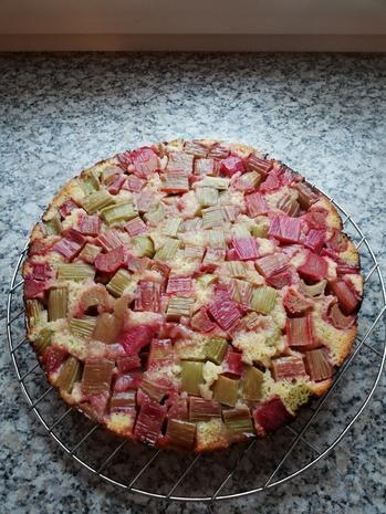 Rhabarberkuchen - Rezept - Bild Nr. 5848