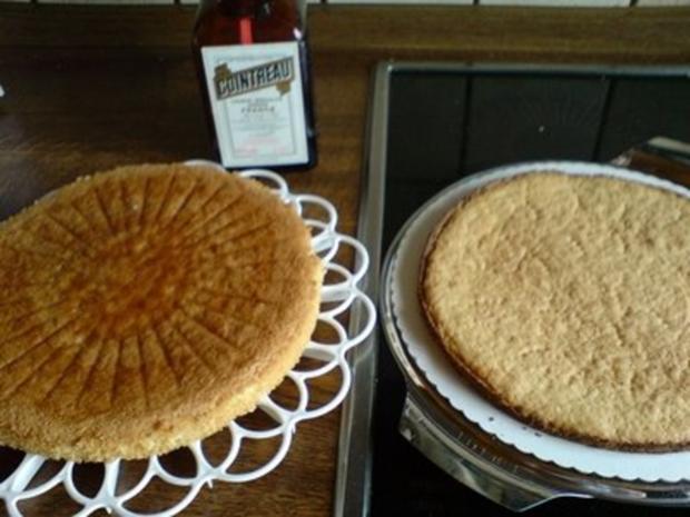 Kuchen -  Sahne-Nuß Torte - Rezept - Bild Nr. 2