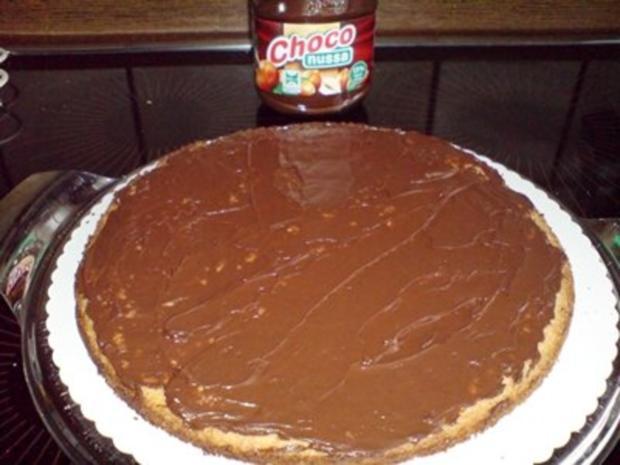 Kuchen -  Sahne-Nuß Torte - Rezept - Bild Nr. 3