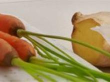Karotten mit Orangen-Ingwer-Marinade - Rezept