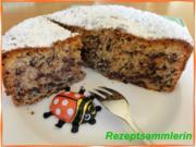 KuchenZwerg:   NUSS - SCHOKI - TORTE - Rezept