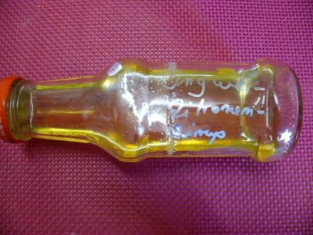 Ingwer-Zitronen-Sirup - Rezept