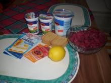 Himbeer-Joghurt-Dessert - Rezept