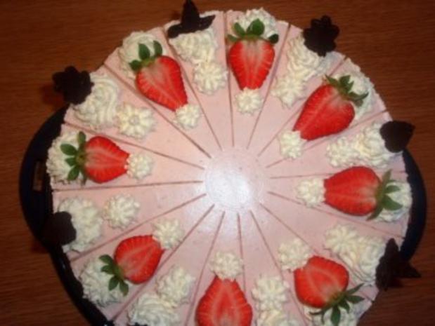 Torte: Erdbeer-Joghurt-Torte - Rezept - Bild Nr. 4