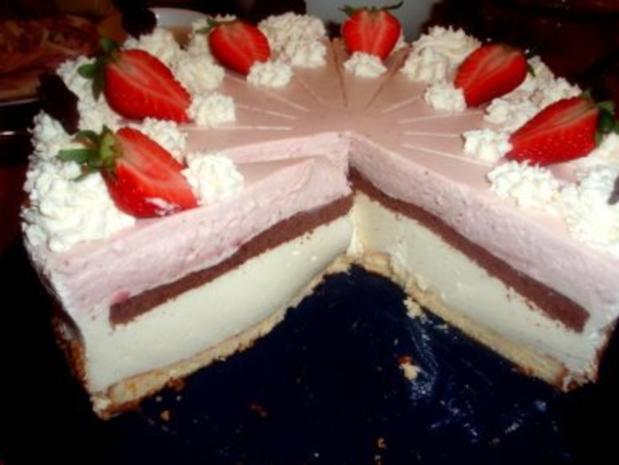 Torte: Erdbeer-Joghurt-Torte - Rezept - Bild Nr. 2