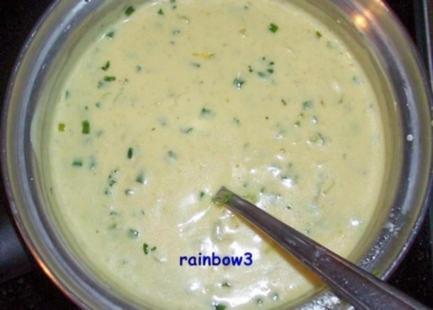 Kochen: Eier in Senf-Kräuter-Sauce - Rezept - Bild Nr. 5