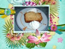 Kuchen : Apfel - Marzipan mit Eierlikör - Rezept