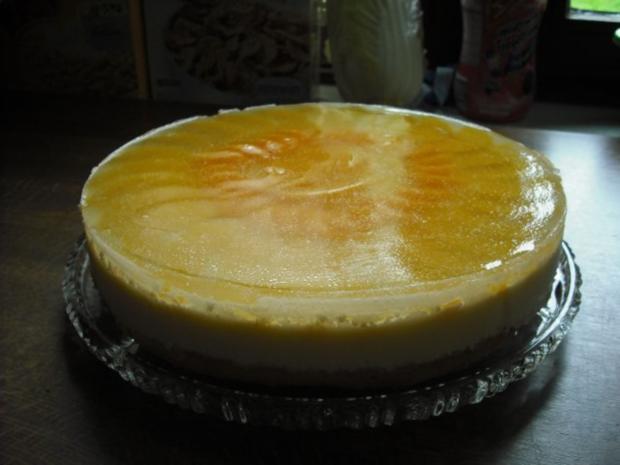 Sahne-Joghurt-Torte - Rezept