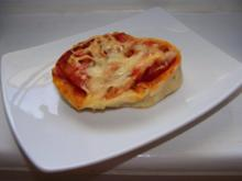 Pizzaschnecken nach Weight Watchers - Rezept