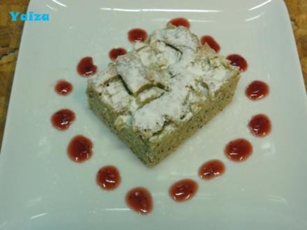 Saftiger Rhabarberkuchen - Rezept