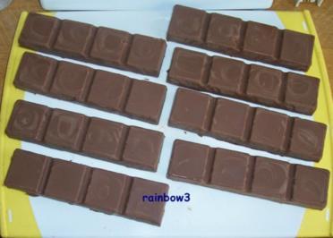 Süßes: Schokoriegel mit Cerealien - Rezept