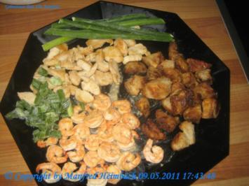 Reis - gebratener Reis a'la Manfred - Rezept
