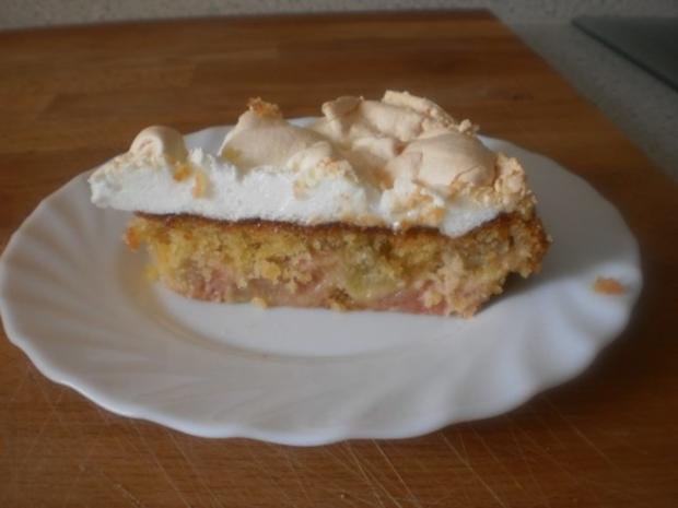 Rhabarber Baiser Kuchen Rezept Mit Bild Kochbar De