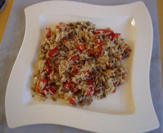 Scharfes Rind mit Paprika - Rezept