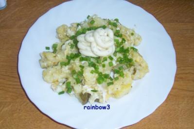 Kochen: Bratkartoffeln mit Rührei - Rezept