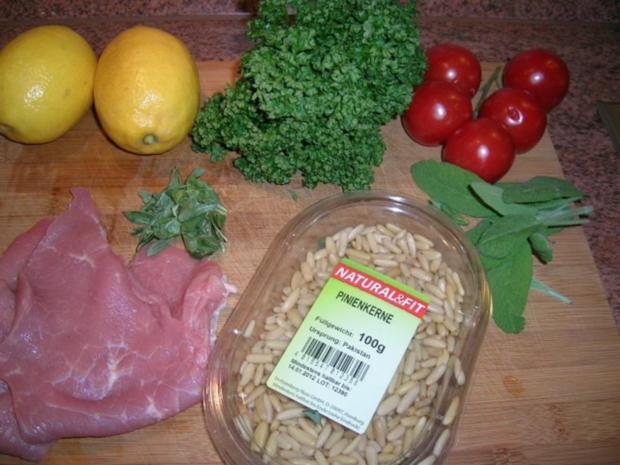 Spargel mit Zitronen-Kalbsschnitzel und Tomaten-Vinaigrette - Rezept - Bild Nr. 5