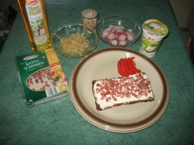 Snack/Brot – Schmand-Speck-Zwiebel-Brot - Rezept - Bild Nr. 2