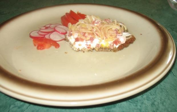 Snack/Brot – Schmand-Speck-Zwiebel-Brot - Rezept - Bild Nr. 3
