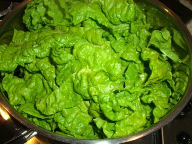 ~ Gemüsebeilage ~  Mangold in Erdnußsahne - Rezept - Bild Nr. 3