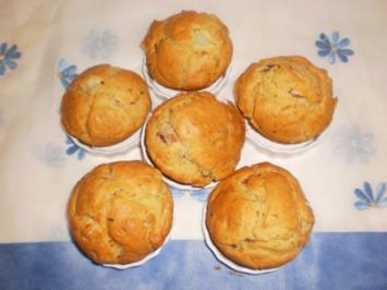 Spargel-Schinken-Muffins - Rezept
