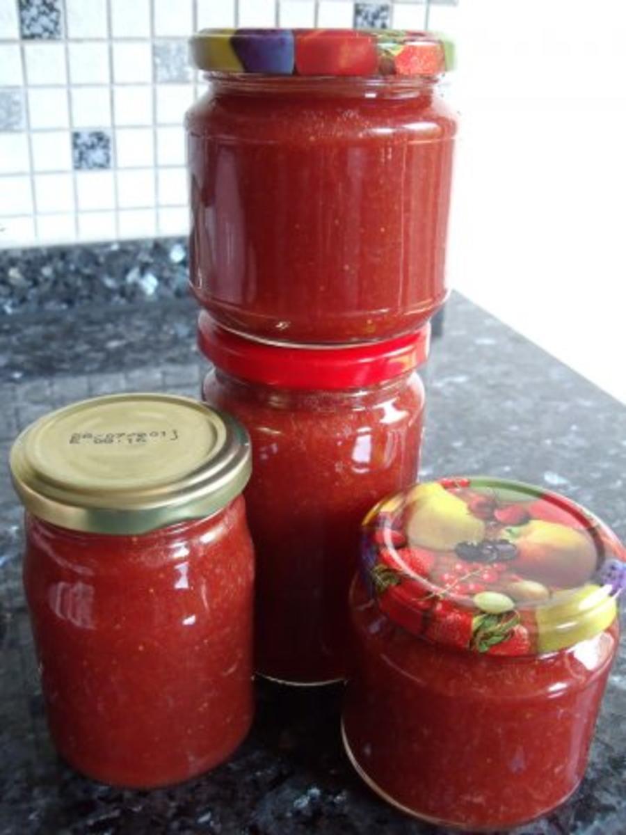 Rhabarber-Erdbeer-Marmelade - Rezept Eingereicht von Sri_Devi