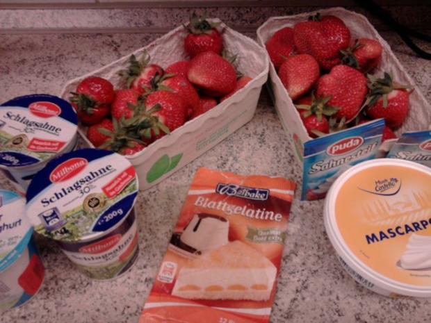 Erdbeer-Tiramisu-Torte - Rezept - Bild Nr. 2