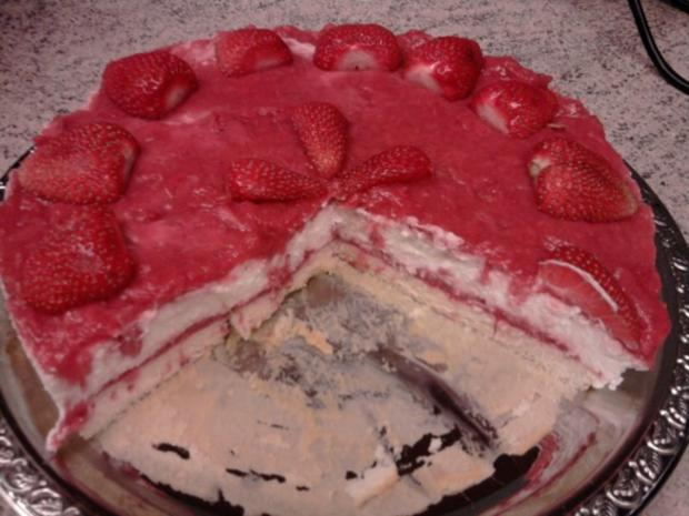 Erdbeer-Tiramisu-Torte - Rezept - Bild Nr. 11