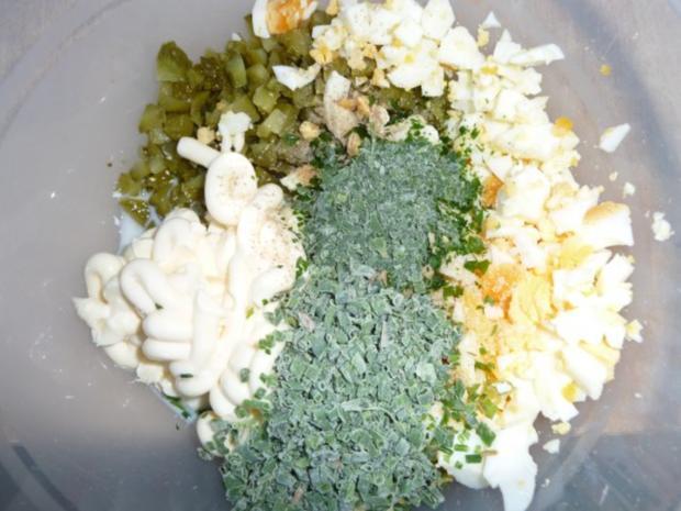 Kartoffelsalat nach Großmutters Art mit Forellenfilets - Rezept - Bild Nr. 5
