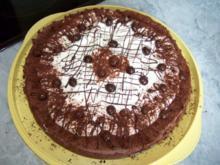 Mousse-au-Cappuccino-Torte nach Dr. Oetker - Rezept