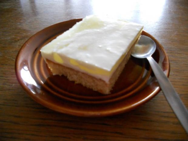 BLECHKUCHEN - Zitronen-Quark-Schnitten - Rezept - Bild Nr. 3