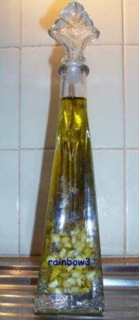 Gewürz: Knoblauch-Hanföl - Rezept