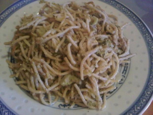 Spaghetti mit Gemüse & Thunfisch - Rezept - Bild Nr. 2