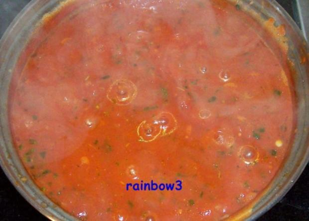 Kochen: Spaghetti mit Tomaten-Kräuter-Sauce - Rezept