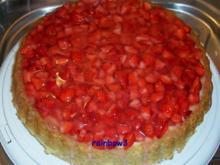 Backen: Erdbeertorte - Rezept
